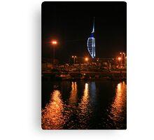 Camber Dock at Night Canvas Print
