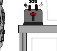 frakking toaster Sticker