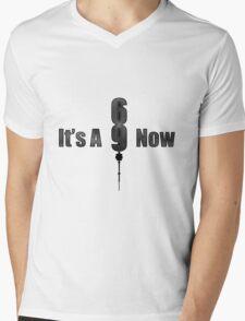 It's A 9 Now Mens V-Neck T-Shirt
