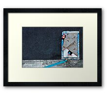 Portable water only Framed Print
