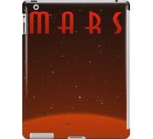 Retro-Style Mars Poster iPad Case/Skin