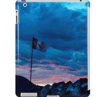 O Canada Sunset iPad Case/Skin