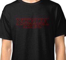 Strange Nostalgia Reigns  Classic T-Shirt