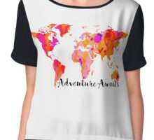 Adventure Awaits Chiffon Top