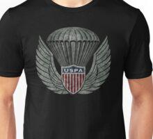 US Parachutes Asociation Vintage Emblem Unisex T-Shirt