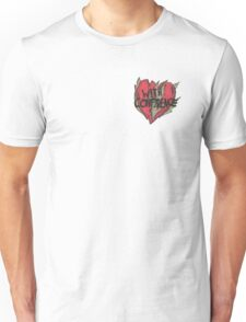 With Confidence Heart Unisex T-Shirt