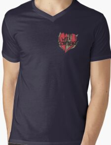 With Confidence Heart Mens V-Neck T-Shirt