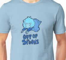 out of spoons Unisex T-Shirt