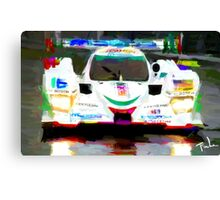 Mazda at Lemans  Canvas Print