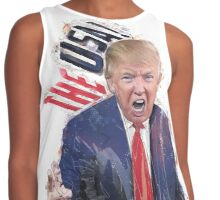 Donald Trump - Is The USA  Contrast Tank