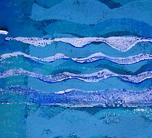 Ocean Waves 2  by Heather Holland by Heatherian