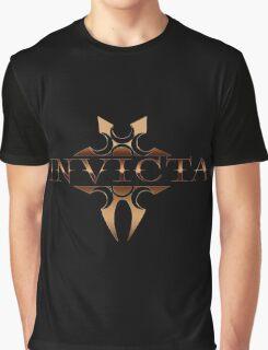 INVICTA   Black and Gold Graphic T-Shirt