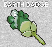 Earth Badge - Pokemon Kids Tee