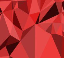 Polygon Heart Sticker