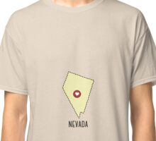 Nevada State Heart Classic T-Shirt