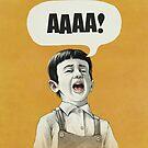 AAAA! (Gold) by Lukas Brezak