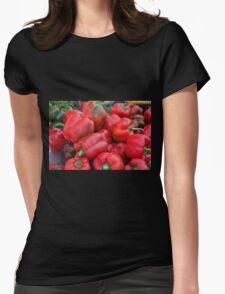 Red Peppers Womens Fitted T-Shirt