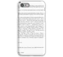 Fitting Lemma Mathematics iPhone Case/Skin