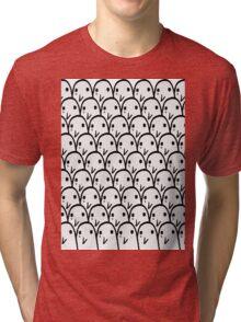 Punpun is sad - Oyasumi Punpun Tri-blend T-Shirt