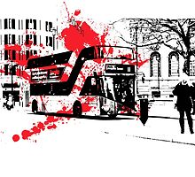 New London Bus by Lightrace