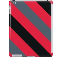 Newark New Jersey Scarlet Red and Gray Sports Team Colors iPad Case/Skin