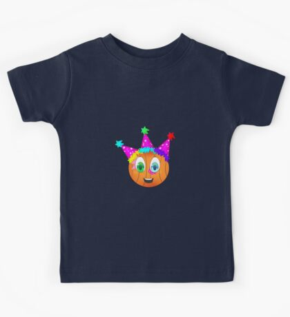 Partlebye the Partying Pumpkin Kids Tee