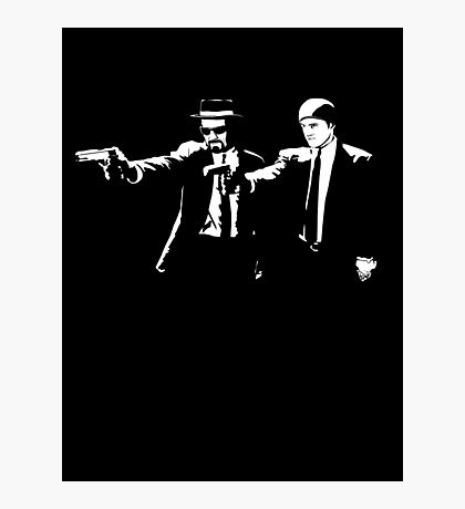 Breaking Bad Pulp Fiction Photographic Print