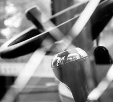 Construction 02 - Shatterproof Dreams | JCB Cab Bokeh by Pete Edmunds