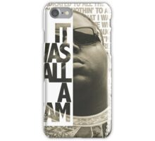 Notorious B.I.G iPhone Case/Skin