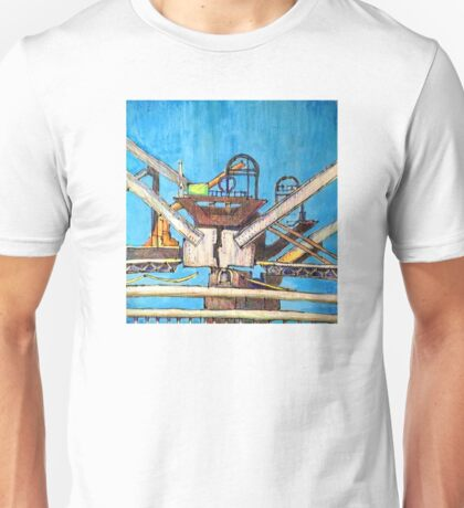 Bay Bridge demolition 02 Unisex T-Shirt