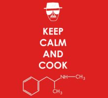Keep calm and cook Meth - White by Austintacious