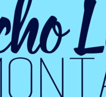 Echo Lake, Montana Geofilter Sticker