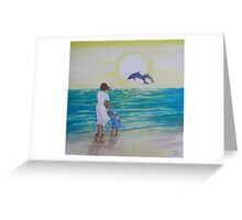 Magical Tide Greeting Card