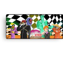 Cartoon Bizarre Adventures Canvas Print