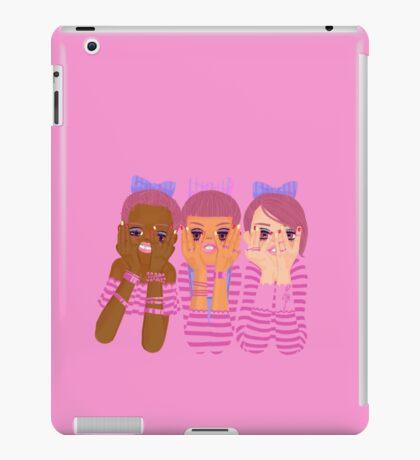 Three girls in pink iPad Case/Skin