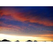 Texas Sunset Photographic Print