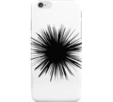 White & Black Bold Splatter iPhone Case/Skin