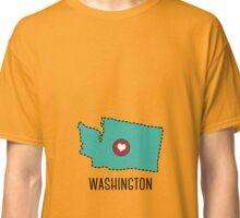 Washington State Heart Classic T-Shirt