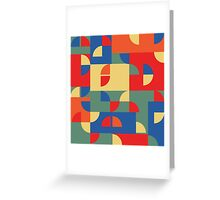 Funky pattern Greeting Card
