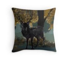 Hannibal Ravenstag Digital Painting Throw Pillow
