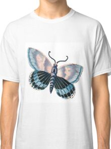 Vintage,reproduction,rustic,butterfly,beautiful,cute,insect, Classic T-Shirt