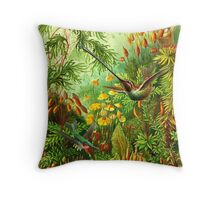 Haeckel's Nature Throw Pillow