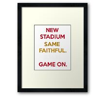 Wear to San Francisco 49ers Levi's Stadium Opening Day! - Kaepernick Willis Framed Print