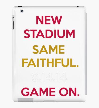 Wear to San Francisco 49ers Levi's Stadium Opening Day! - Kaepernick Willis iPad Case/Skin