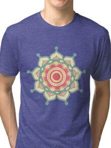 Mandala pastel Tri-blend T-Shirt