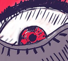 Angry Eye by nobra
