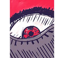 Angry Eye Photographic Print