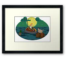 Guybrush Threepwood Framed Print