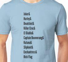 Squad List... Unisex T-Shirt