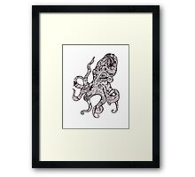 The Octopus Framed Print